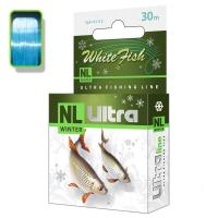 "Леска ""AQUA"" NL Ultra White Fish белая рыба 0.14 30м"