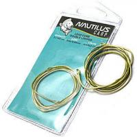 Лидкор готовый Nautilus Supreme Lead Core Double Looped 35lb 2х1м Army Brown