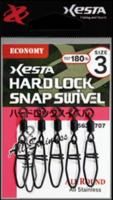 Карабин с вертлюгом XESTA HARD LOCK SWIVEL ECONOMY #1