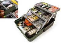 Ящик Nautilus 149 Tackle Box 3-tray Grey-Green